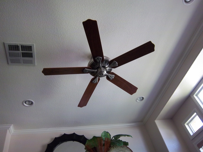 Ceiling Fans Recessed Lights Electrical Trouble Shooting GFCI And - Kitchen light and fan