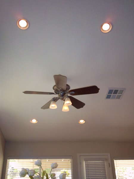 Ceiling Fans Recessed Lights Electrical Trouble Shooting