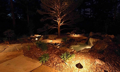 Landscape Lighting   Nothing Is More Attractive Than Well Planned Exterior  Lights To Enhance Your Landscape Or House. The Right Lighting Choices Can  Make ... Part 72